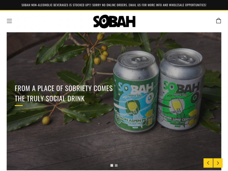Sobah Non-Alcoholic Beverages